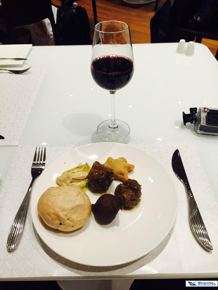 Sala VIP Qatar - Jantar