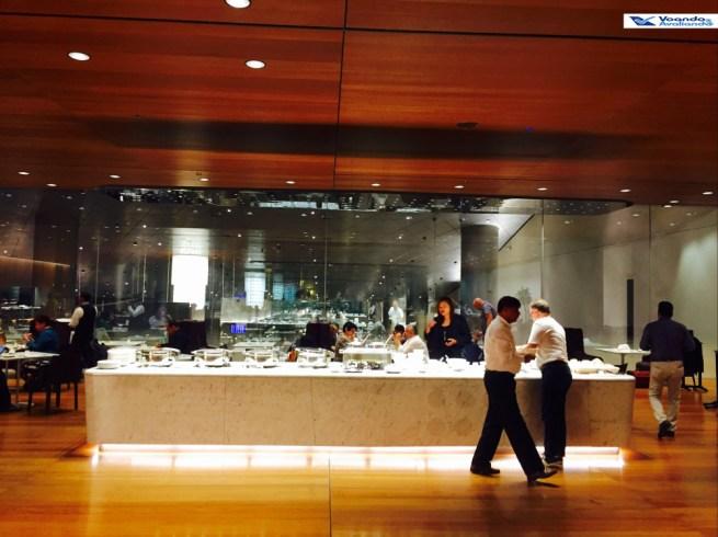 Sala VIP Qatar - Buffet