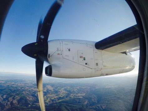 Hélice Q300 - Voo 6