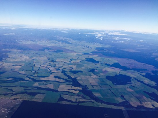 Paisagem voo Q300 ANZ 2