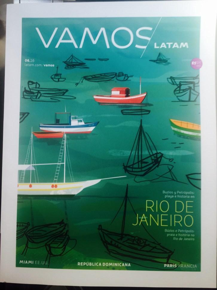 Revista de Bordo LATAM