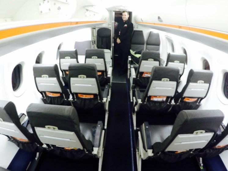 Interior Cabine Q300