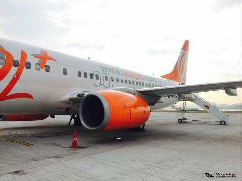 B737-800 - Turbina e Cauda