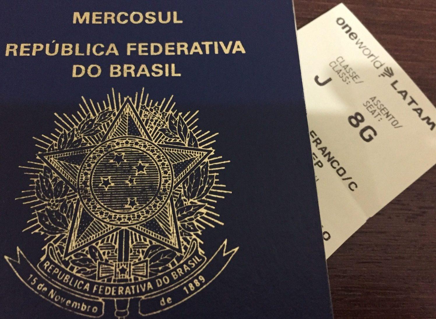 Passaporte e Cartão - LATAM FRA