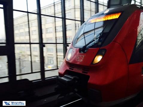 Trem Berlin SXF