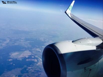 Cauda e Turbina - Transavia 2