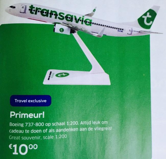 Revista Transavia - miniatura