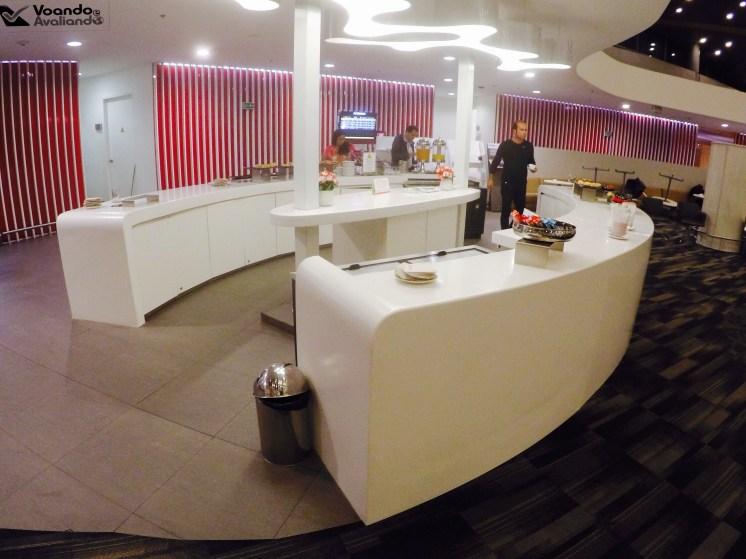 Buffet - Sala VIP - Avianca