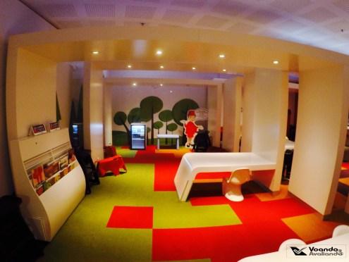Espaço kids - Sala VIP - Avianca
