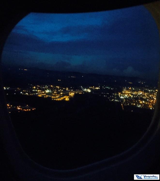Bogotá - Visão Janela E190 - Copa 2