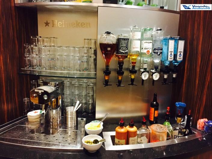 Crown Lounge - Destilados