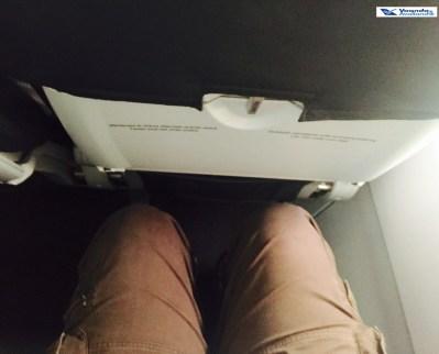 Espaço pernas - A320 - Alitalia