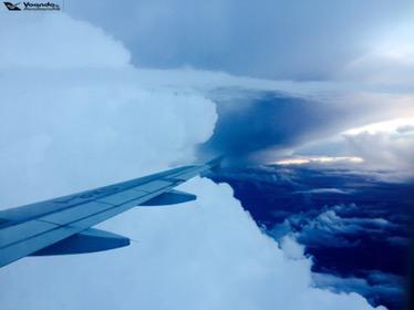 Nuvens - Aproximação ROMA 3