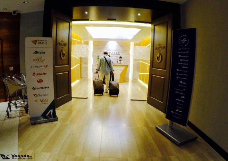 Sala VIP - Alitalia - Recepção