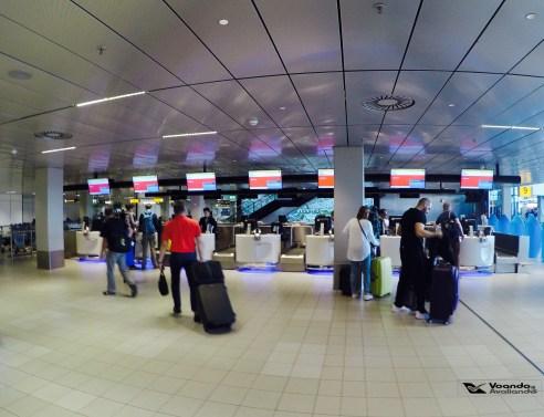 Área de Prioridades - KLM AMS 3