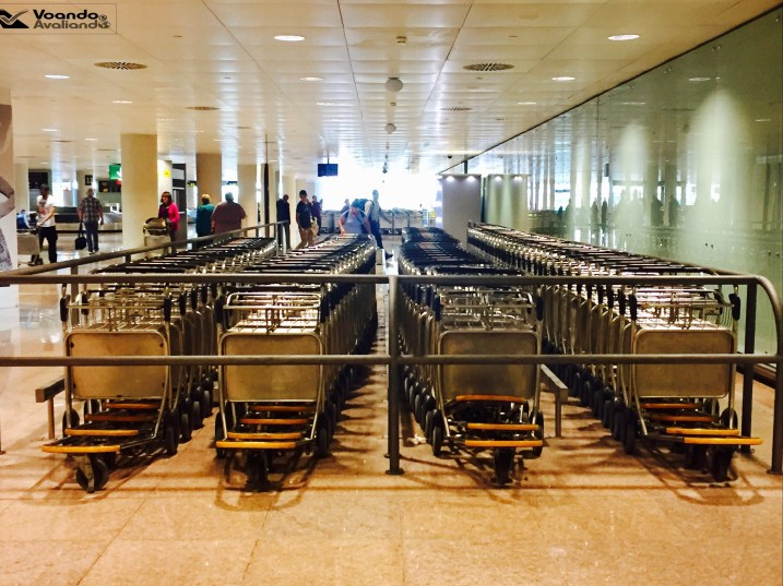 Carrinhos - Aeroporto BCN