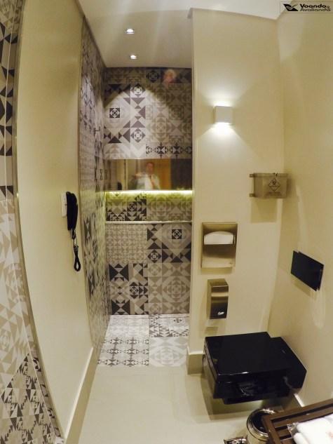 Banheiro - Sala VIP GOL GRU - Visão Geral