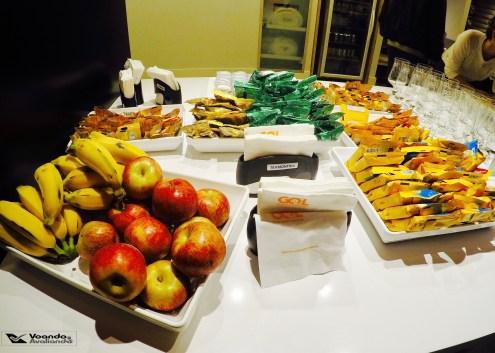Buffet - Sala VIP - GOL GRU Frutas