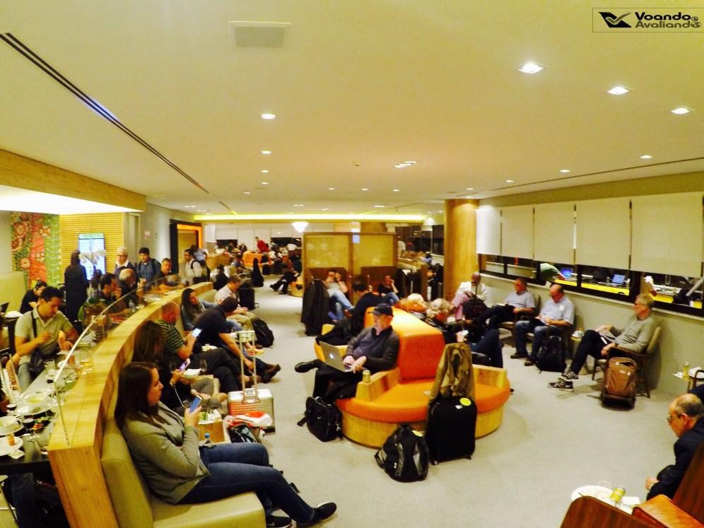 Sala VIP - GOL GRU - Visão Geral 1
