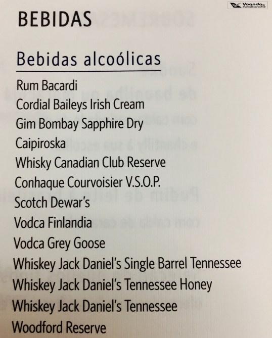 Lista de Destilados - Delta - GRU/JFK