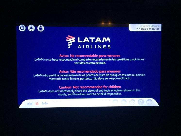 IFE LATAM - B767