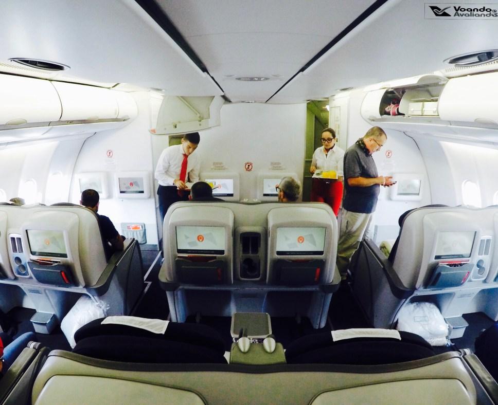 Inside - Cabine A330 - Avianca