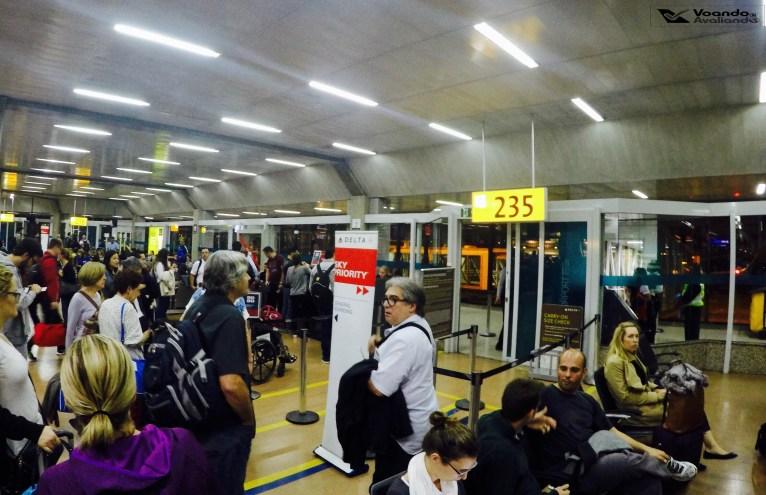 Portão 235 - GRU - Embarque Delta