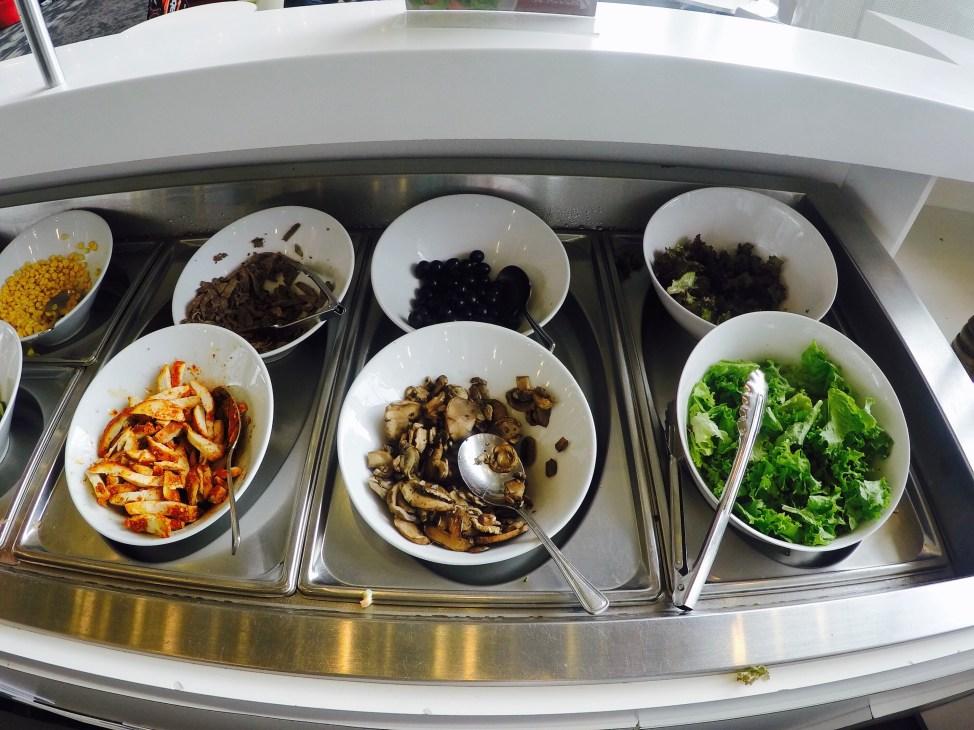 Buffet Saladas - Sala VIP Avianca 1