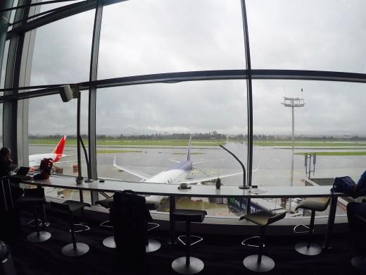 Sala VIP - Avianca - Bogota - Janela