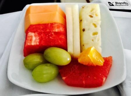 Café da Manhã - Avianca - GRU/JFK - Frutas