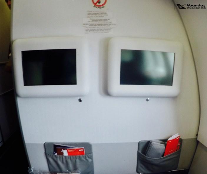 Telas - A330 - 1a fileira - Avianca