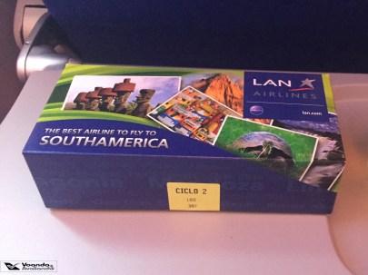 Caixinha - Lanche - LATAM - MAD/FRA