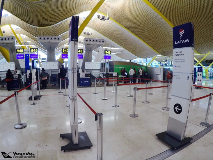 Check-in LATAM - Madrid 2