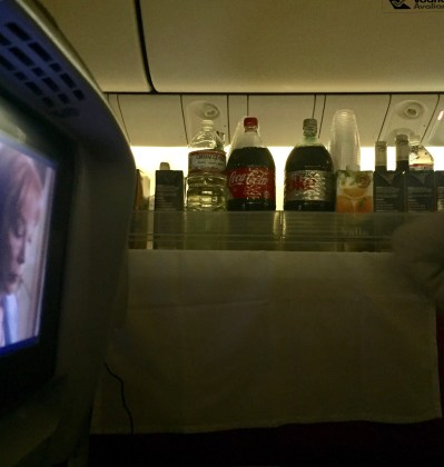 Bebidas - B767 - JFK-GRU
