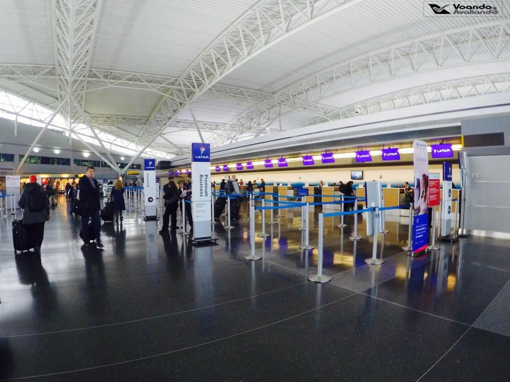 Check-in LATAM - JFK 1