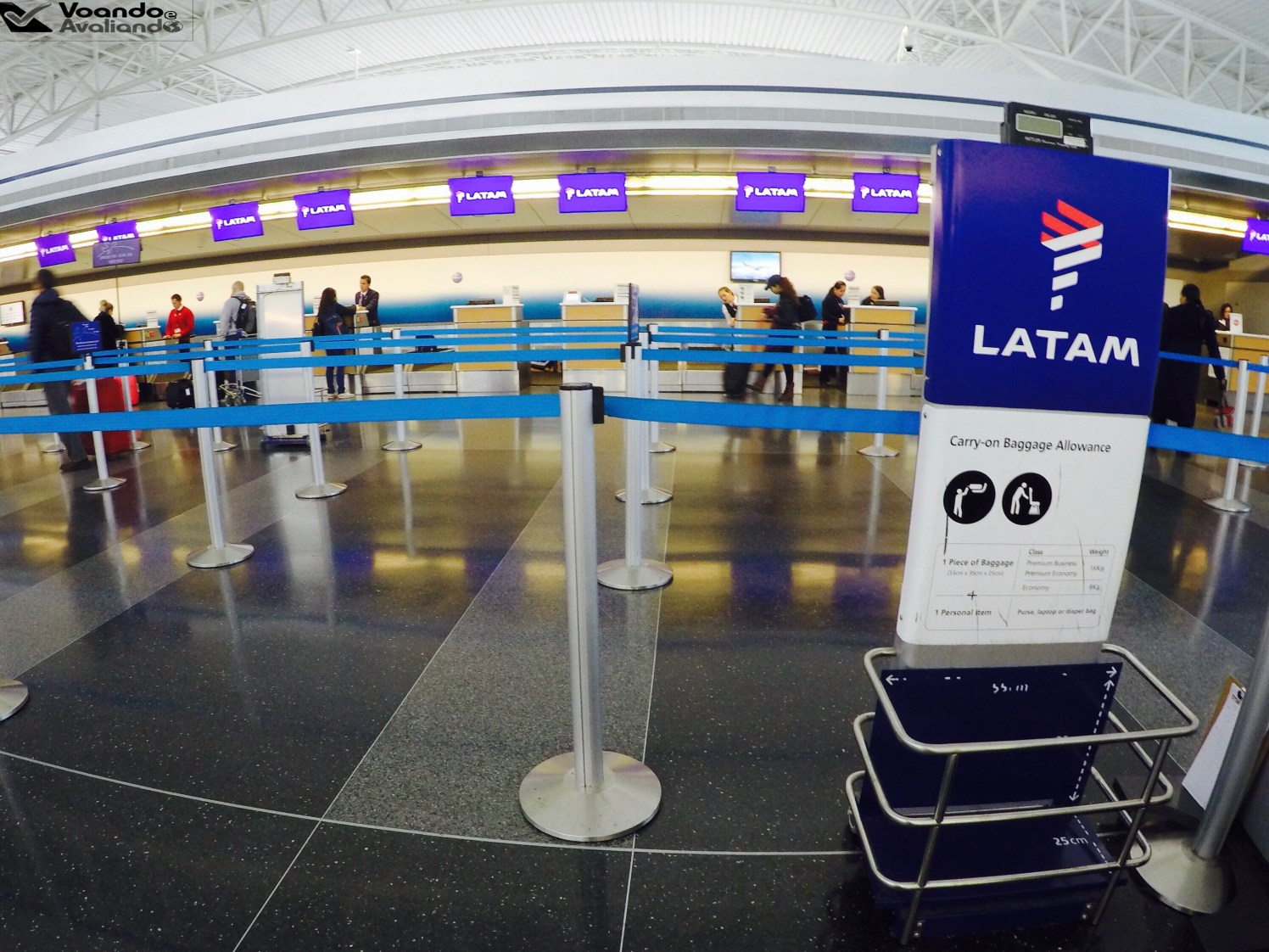 Check-in LATAM - JFK 2