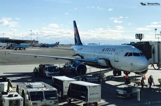 A319 - Delta - Portao A15 Boston