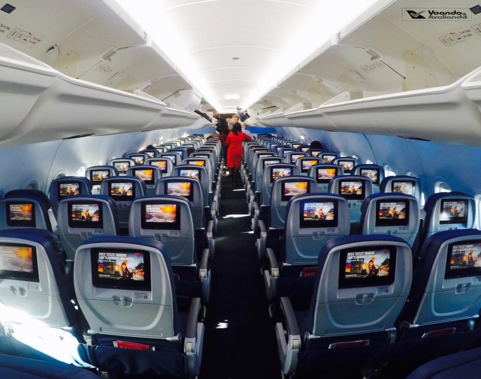 Inside A319 - Delta