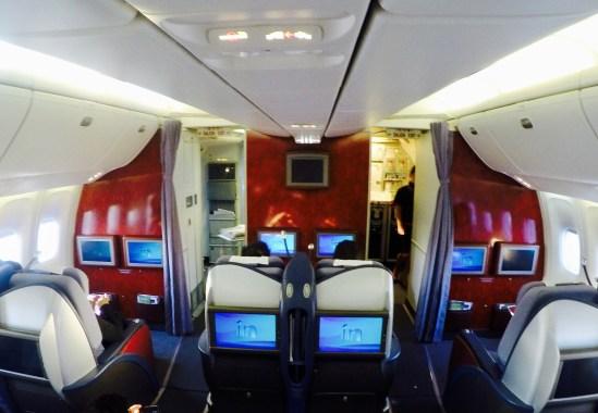 Inside - B767 LAN Peru