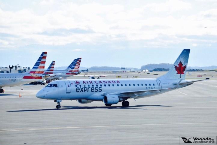 E-170 Air Canada - Boston