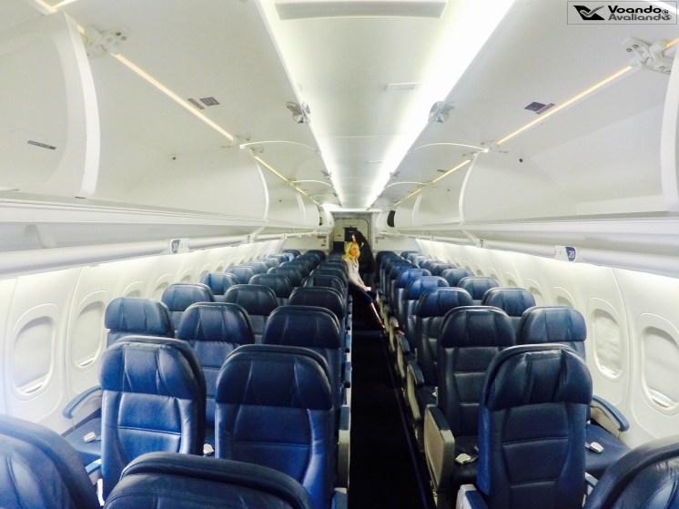 Inside B717- Delta 9