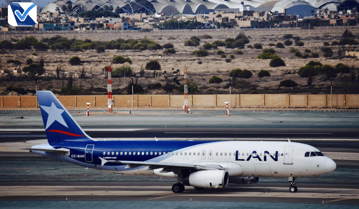 A320 - LATAM (old livery) taxiando