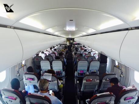 Inside A321 - LATAM GIG GRU