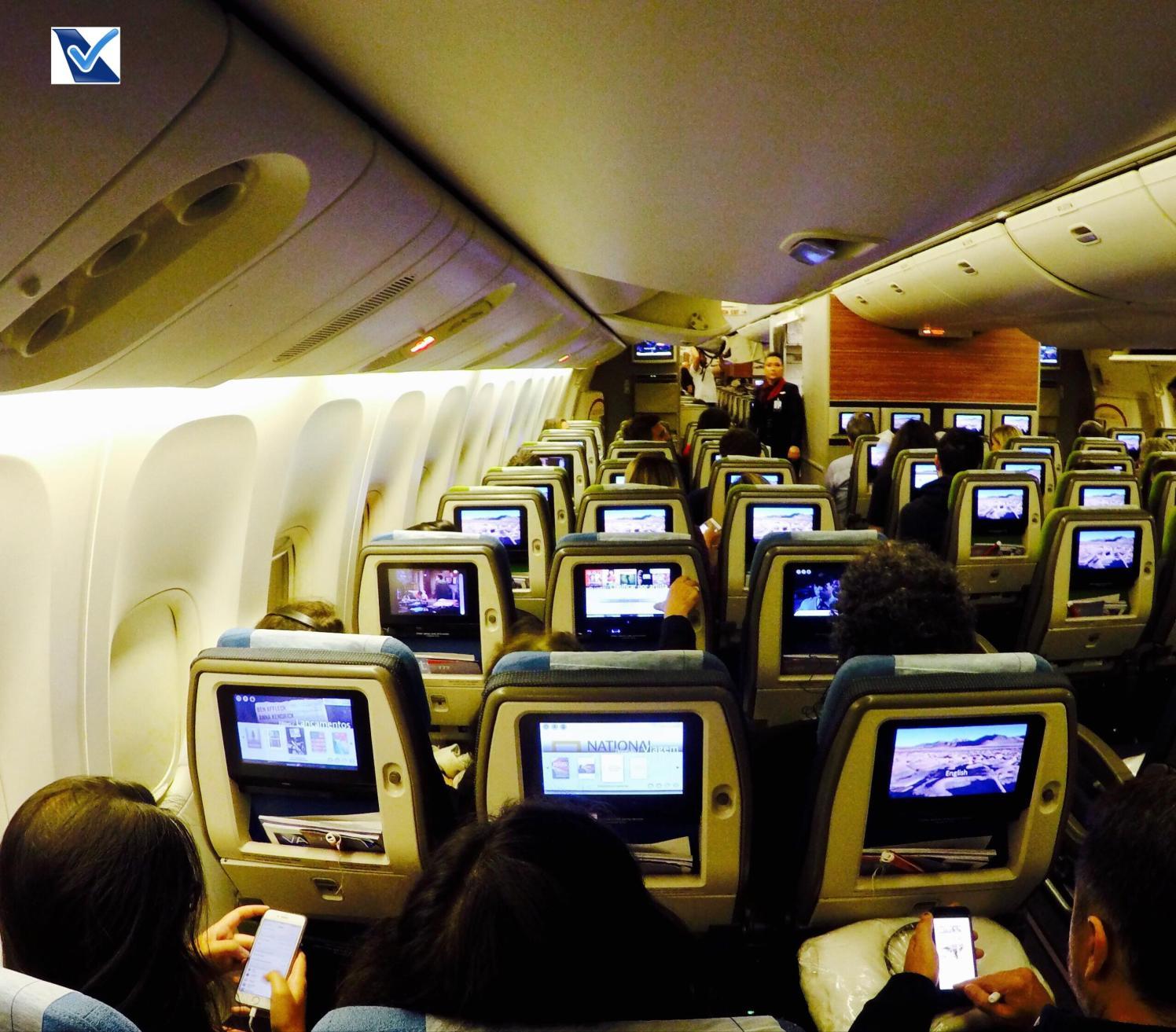 Inside B777 Economica - Assentos Janela