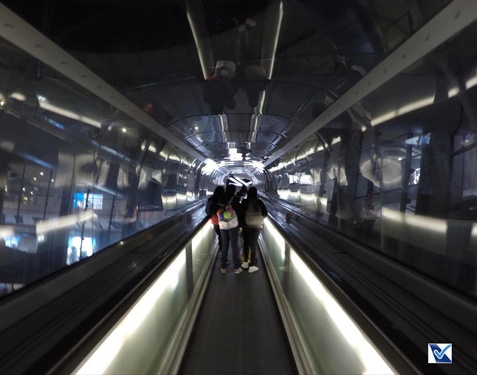 CDG - Escada Rolante Túnel