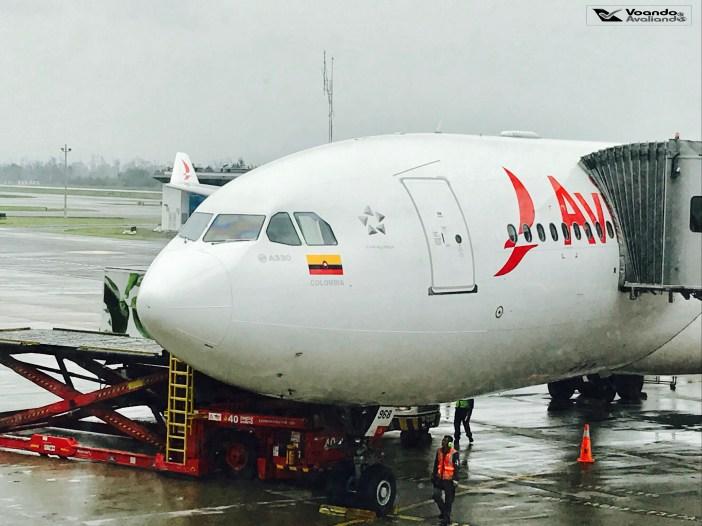 Bogotá - Avianca - Airbus A330 (4)