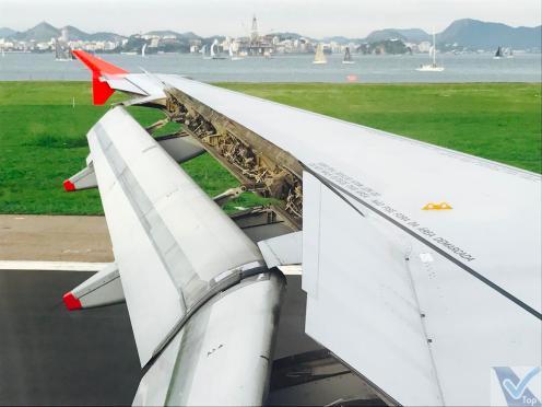 Avianca - A319 - Pouso SDU 2