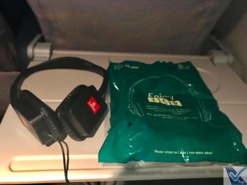 Emirates B777 IFE Fone de Ouvido