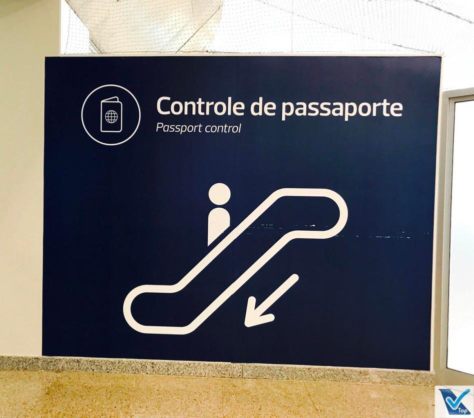 GIG Placa Controle Passaporte