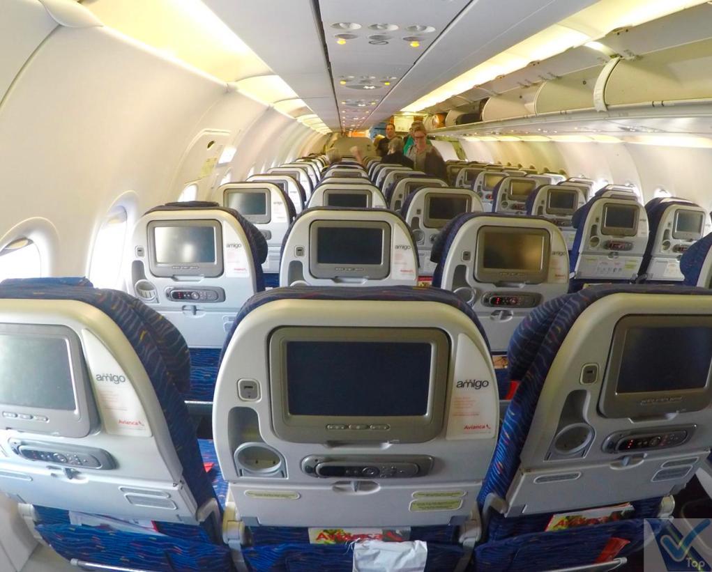 Inside - A319 - Avianca 4